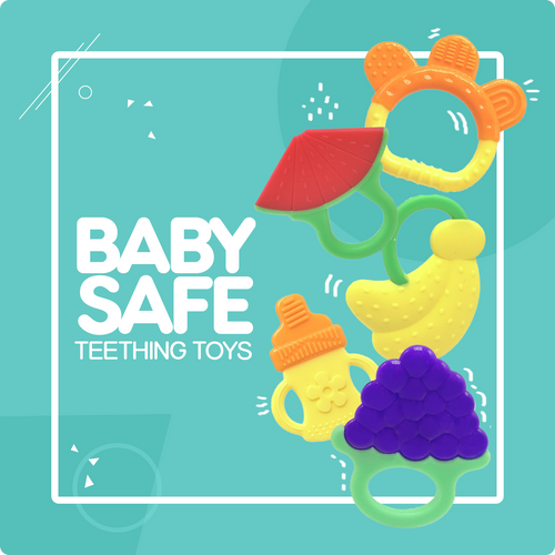 Baby Teething Relief Toy (5 Pack)