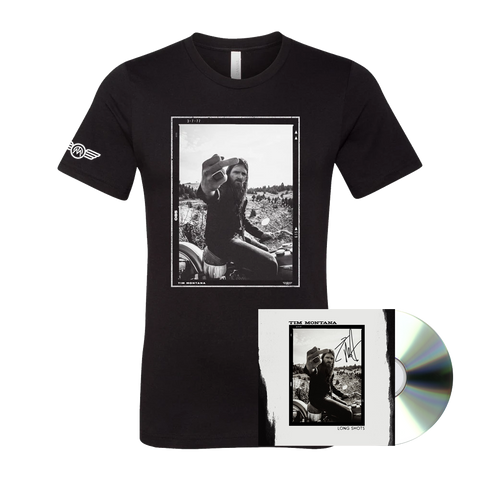 SIGNED Long Shots CD + Tee Bundle (Pre-Order)