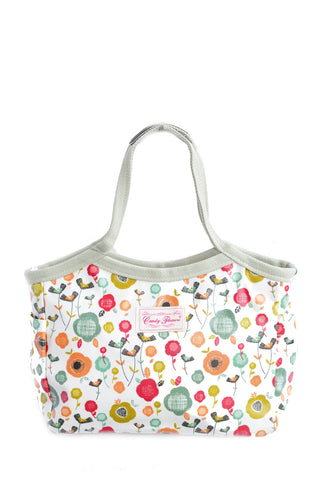 Candy Flowers Shoulder Bag Caitlyn ? Chic Flowers White - tas model Shoulder baru - www.baglovers.id - 1