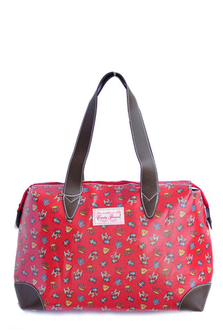 Candy Flowers Shoulder Bag Caitlyn ? London White - tas model Shoulder baru - www.baglovers.id - 1