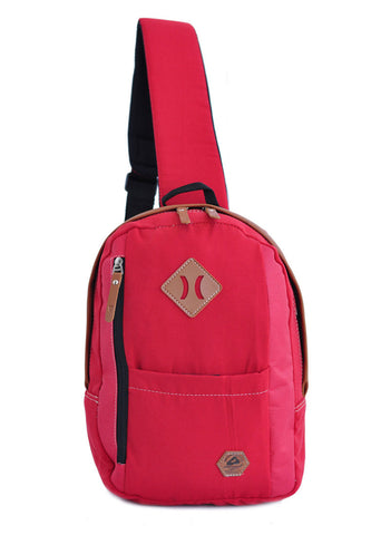 Amooba Sling Backpack Armor - Red - tas model Slingbag baru - www.baglovers.id - 1