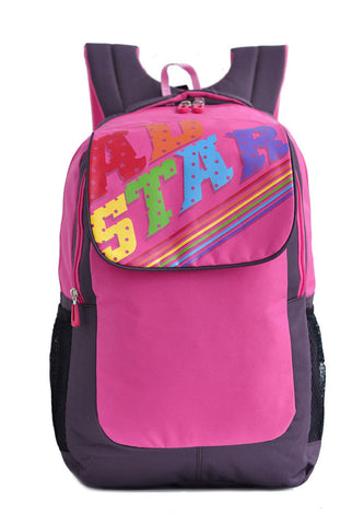 Adstar Backpack Alexa - Pink - tas model Backpack baru - www.baglovers.id - 1