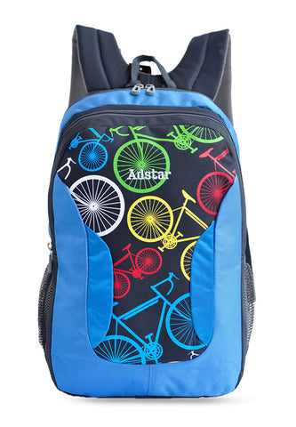 Adstar Backpack Bikes - Blue - tas model Backpack baru - www.baglovers.id - 1