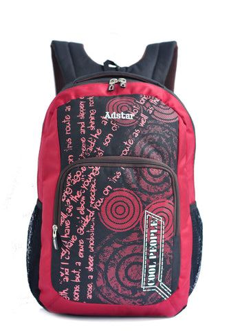 Adstar Backpack Alpha - Red - tas model Backpack baru - www.baglovers.id - 1