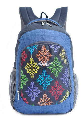 Adstar Backpack Batik ? Blue - tas model Backpack baru - www.baglovers.id - 1
