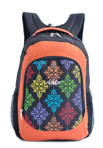 Adstar Backpack Batik ? Orange - tas model Backpack baru - www.baglovers.id - 1