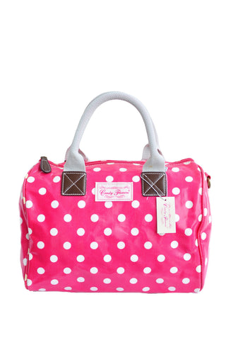 Candy Flowers Bronwen Polkadot Pink - tas model Shoulder baru - www.baglovers.id - 1