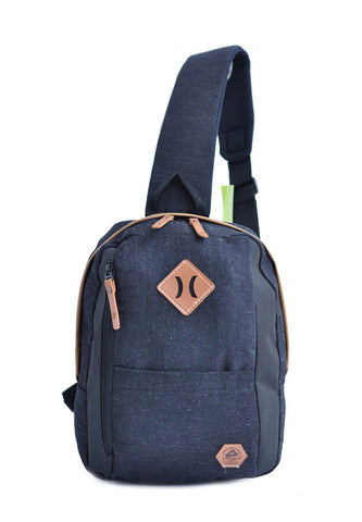 Amooba Sling Backpack Armor - Black - tas model Slingbag baru - www.baglovers.id - 1