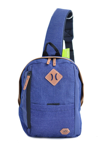 Amooba Sling Backpack Armor - Dark Blue - tas model Slingbag baru - www.baglovers.id - 1