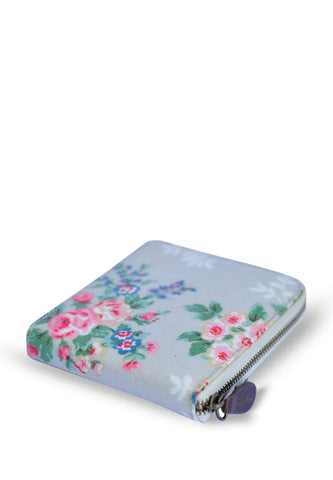 Candy Flowers Wallet Hallie - Big Rose Grey - tas model Wallet baru - www.baglovers.id - 1