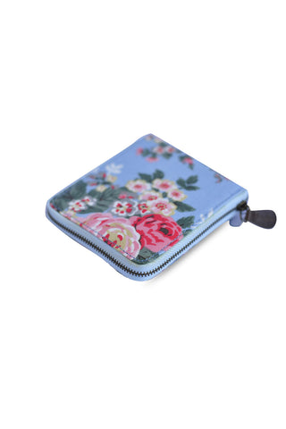 Candy Flowers Wallet Hallie ? Big Blue Rose - tas model Wallet baru - www.baglovers.id - 1