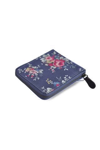 Candy Flowers Wallet Hallie ? Dark Grey Rose - tas model Wallet baru - www.baglovers.id - 1