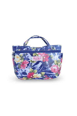 Candy Flowers Wallet Big Rose Navy - tas model Wallet baru - www.baglovers.id - 1