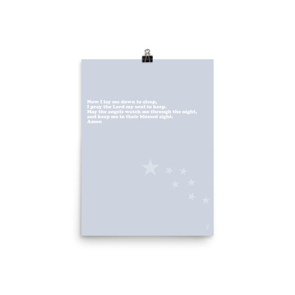 Nighttime prayer poster-Kozira-12×16-Kozira