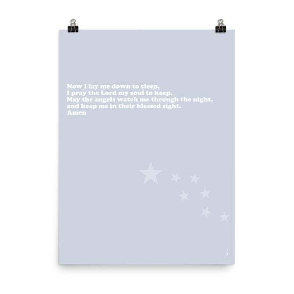 Nighttime prayer poster-Kozira-18×24-Kozira