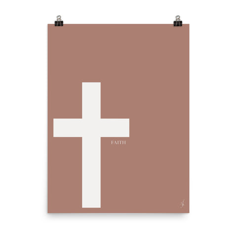Cross Poster (Kozira red)-Kozira-18×24-Kozira
