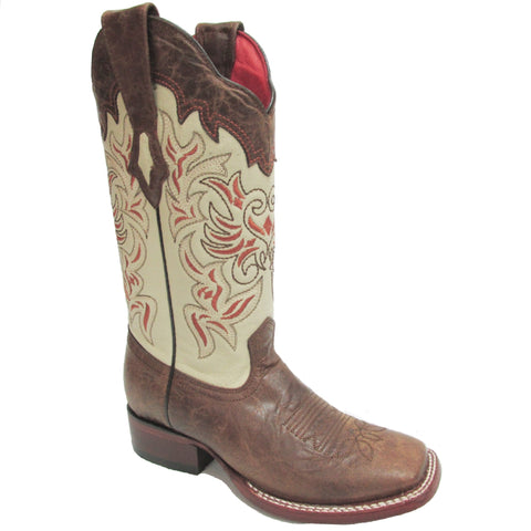 LOS ALTOS WOMEN'S WIDE SQUARE VOLCANO BROWN BOOT #3225235