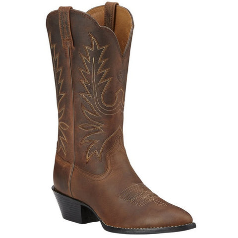 ARIAT WOMEN'S HERITAGE WESTERN DISTRESSED BROWN #10001021