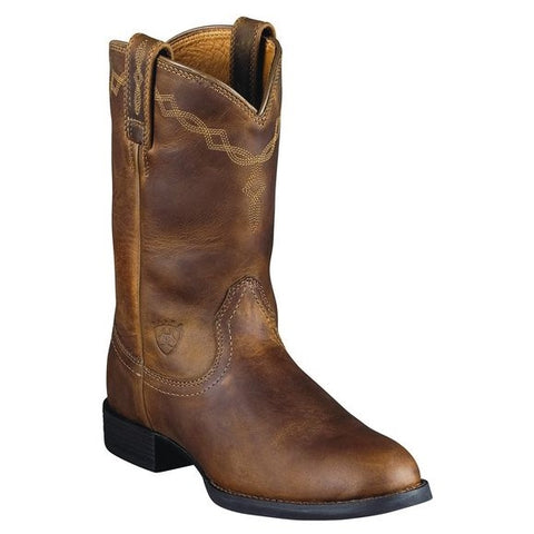 ARIAT WOMEN'S HERITAGE ROPER DISTRESSED BROWN #10000797