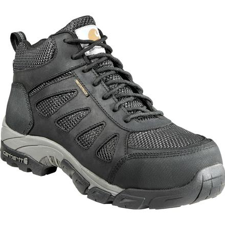 CARHARTT MEN'S LIGHTWEIGHT SAFETY TOE WORK BLACK HIKER #CMH4481