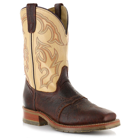 "DOUBLE-H MEN'S 11"" BISON WIDE SQUARE TOE ICE™ #DH4305"