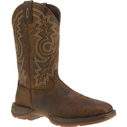 DURANGO MEN'S REBEL STEEL TOE WESTERN WORK BOOT #DB4343