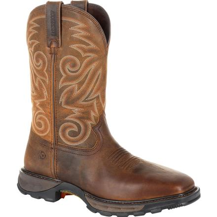 DURANGO MEN'S MAVERICK XP STEEL TOE WATERPROOF WESTERN WORK BOOT #DDB0206