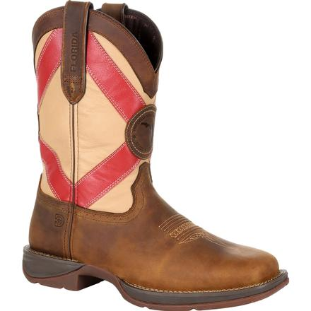 DURANGO MEN'S REBEL FLORIDA STATE FLAG WESTERN BOOT #DDB0233