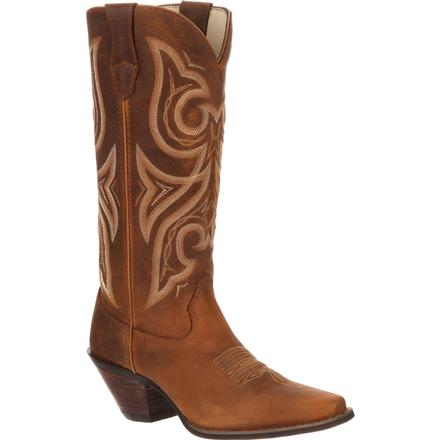 DURANGO WOMEN'S CRUSH TAN JEALOUSY WESTERN BOOT #RD3514