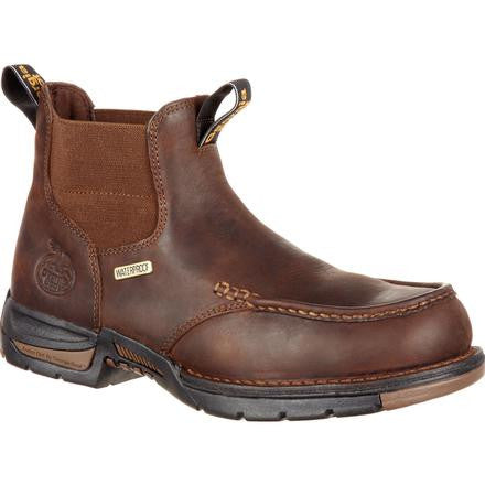 GEORGIA MEN'S ATHENS CHELSEA WATERPROOF WORK BOOT #GB00156