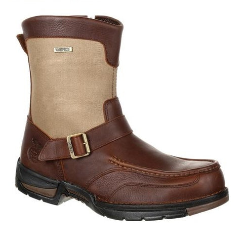 GEORGIA MEN'S ATHENS WATERPROOF SIDE-ZIP BOOT #GB00245