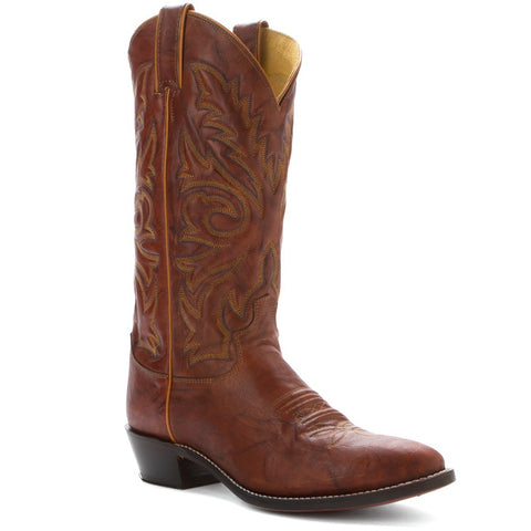 JUSTIN MEN'S CHESTNUT WESTERN BOOT #1560