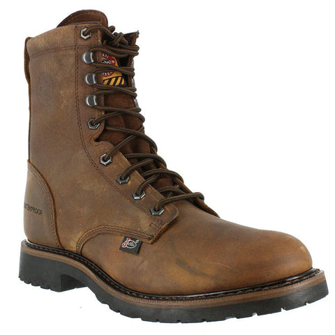 JUSTIN MEN'S WYOMING WORKER II™ WATERPROOF STEEL TOE WORK BOOT #WK961