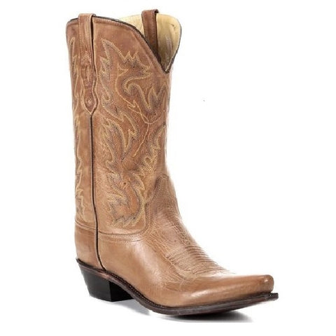 OLD WEST MEN'S TAN FASHION BOOT #MF1529