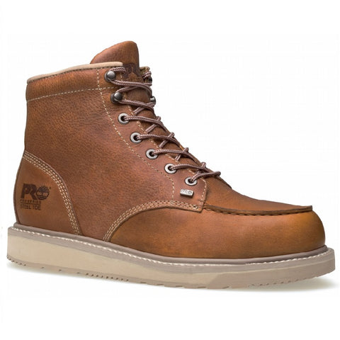 TIMBERLAND PRO® MEN'S BARSTOW WEDGE MOC SOFT TOE WORK BOOT #89647