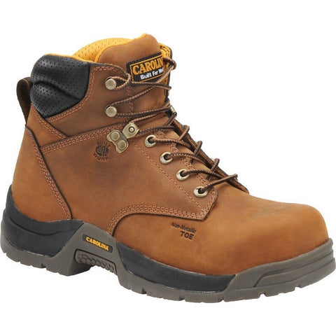"CAROLINA MEN'S 6"" WATERPROOF COMPOSITE TOE WORK BOOT #CA5520"