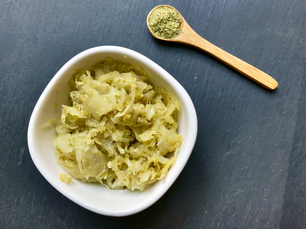 Spicy Verde Kraut