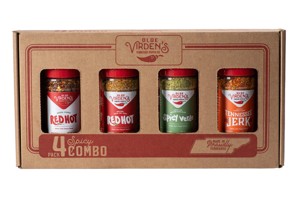 4 Pack Chili Pepper Blend Gift Box