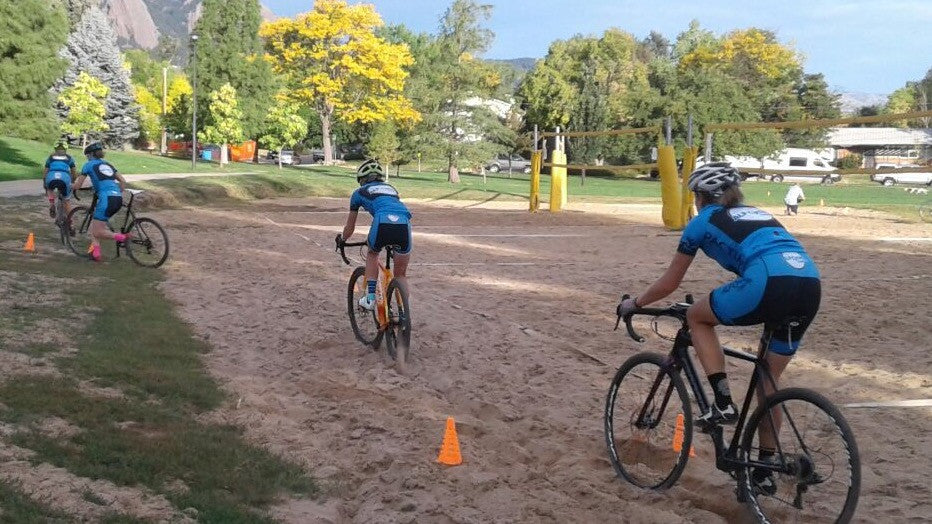 Cyclocross Skills, Drills, and Challenges
