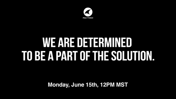 Replay: We Are Determined to be Part of the Solution