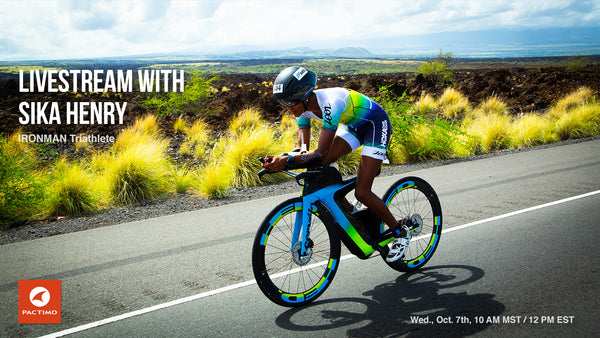 Livestream Replay: Sika Henry, IRONMAN Triathlete