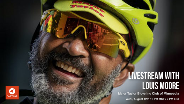 Livestream Replay: Louis Moore, founder of the Major Taylor Bicycling Club of Minnesota