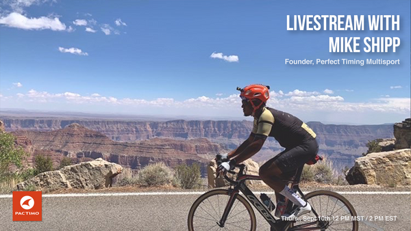 Livestream: Mike Shipp, Perfect Timing Multisport Podcast
