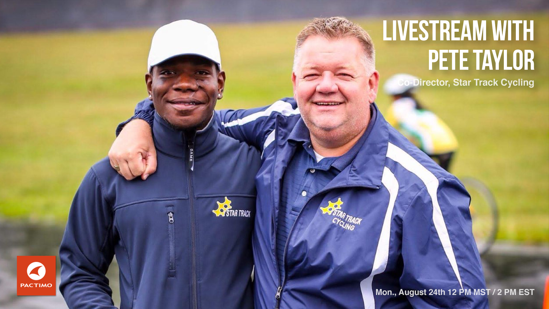 Livestream Replay: Pete Taylor - Track Coach, Visionary