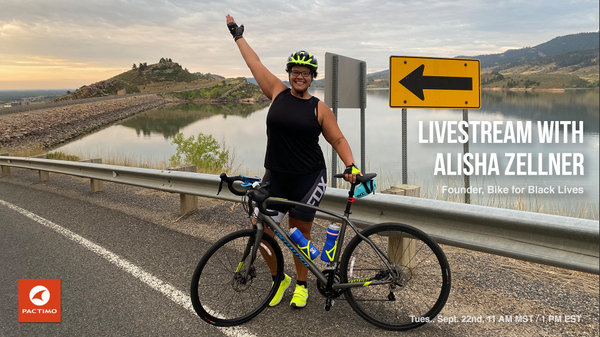 Livestream Replay: Alisha Zellner, Bike for Black Lives