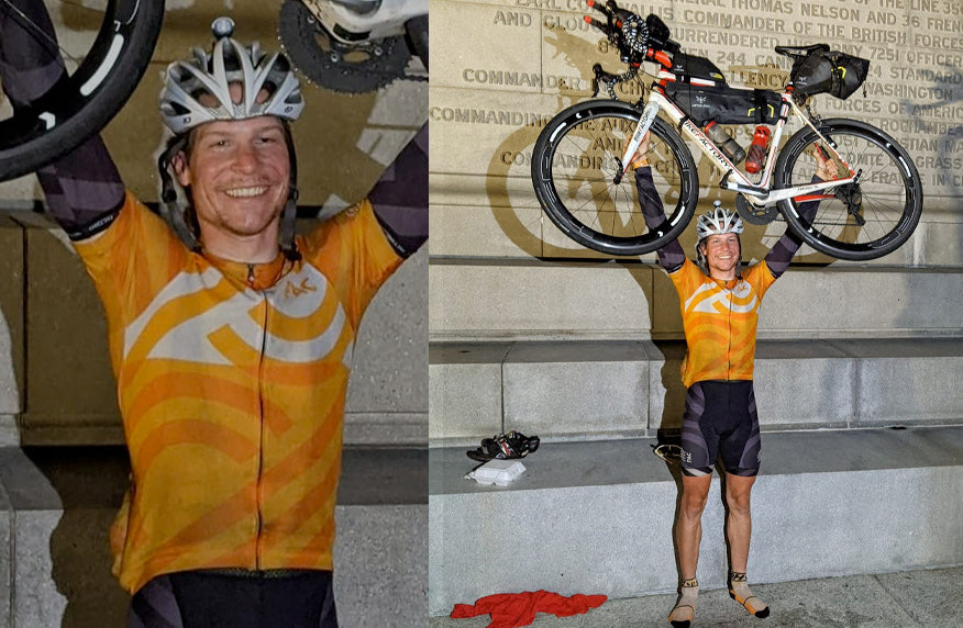 Pactimo Ambassador Finishes 3rd in Trans Am Bike Race