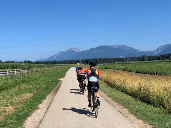 Day 13: Ljubljana to Villach, first day in the Alps