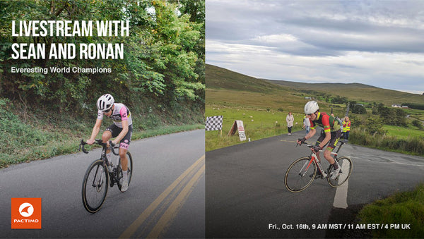 LIVESTREAM REPLAY: Sean Gardner & Ronan McLaughlin, Everesting Record Holders