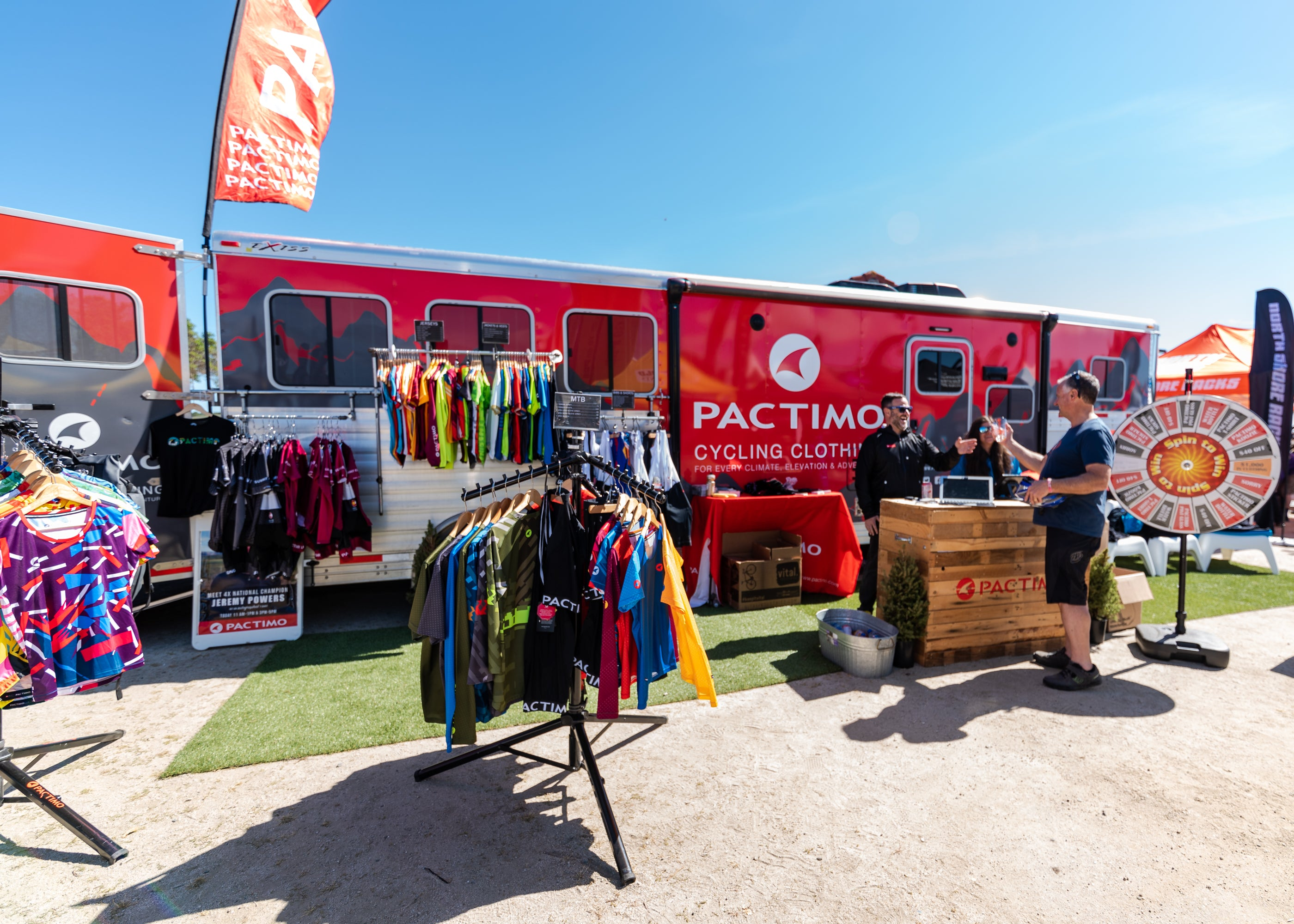 Pactimo Team at Sea Otter 2019