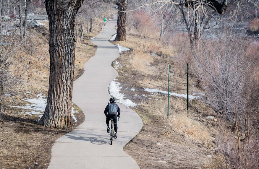 Commuting in Denver, Colorado Cycling